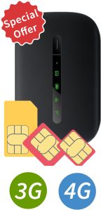 Cellhire - Spain SIM + optional MiFi